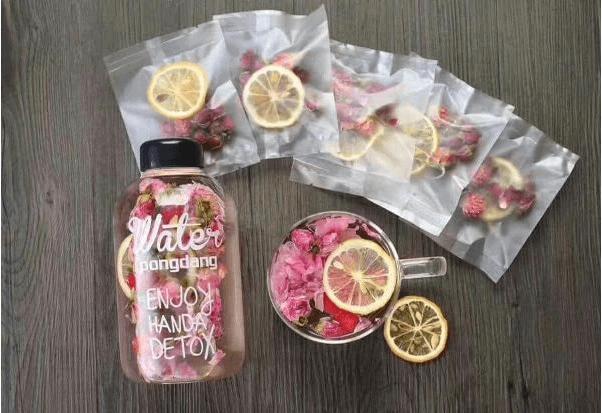 Cách pha trà detox trái cây sấy khô giảm cân Hàn Quốc hiệu quả